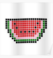 La Nourriture De Pixel: Posters | Redbubble