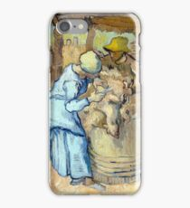 Vincent van Gogh The Sheep-Shearer iPhone Case/Skin