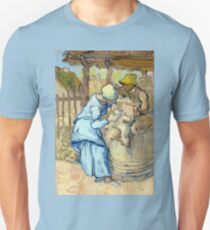 Vincent van Gogh The Sheep-Shearer Unisex T-Shirt