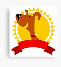Champion dog Canvas Print