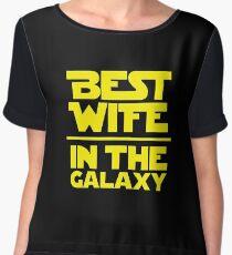 Best Wife in the Galaxy Chiffon Top