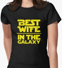 Best Wife in the Galaxy Women's Fitted T-Shirt