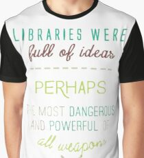 Sarah J. Maas quote - Throne of glass Graphic T-Shirt