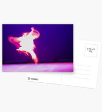 Ballet Blur Postcards