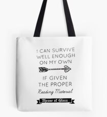 Throne of glass quote Tote Bag