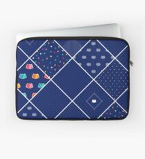Chromatic cats patchwork Laptop Sleeve