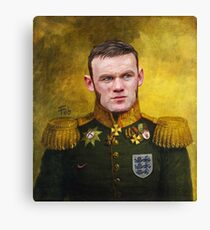 Sir Wayne Rooney Earl of Manchester Canvas Print