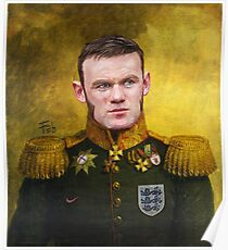 Sir Wayne Rooney Earl of Manchester Poster