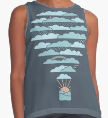 Weather Balloon Contrast Tank