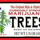 «Árboles de marihuana curiosamente fuertes» de kushcoast