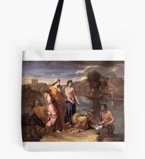 Poussin, The Finding of Moses,  Tote Bag