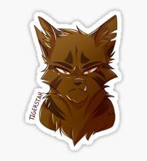 Krieger Sticker - Tigerstern Sticker