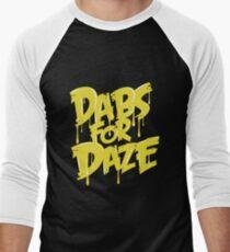Dabs for Daze Men's Baseball ¾ T-Shirt