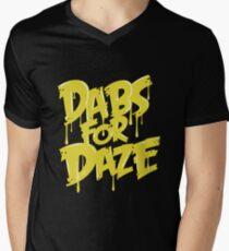 Dabs for Daze Men's V-Neck T-Shirt