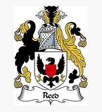 Reed Coat of Arms / Reed Family Crest Photographic Print