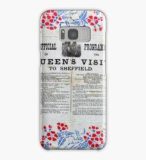 Official programme Queen's Victoria's visit to Sheffield, 1897 Samsung Galaxy Case/Skin