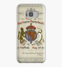 Programme for the visit of Queen Victoria to Sheffield, 1897 Samsung Galaxy Case/Skin