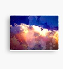 I'll paint the sky for you. Canvas Print