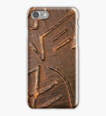 Prince and princess in vintage armour iPhone Case/Skin