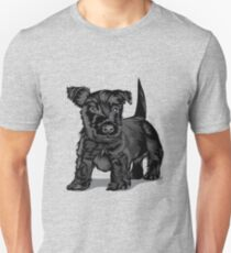 Cute Schnoodle dog Unisex T-Shirt