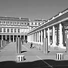 Courtyard at the Palais-Royal by Alex Cassels