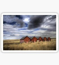 Five Red Barns Sticker