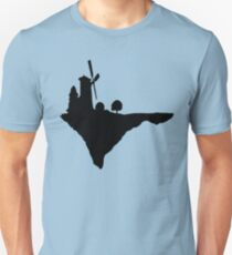Flying windmill silhouette Slim Fit T-Shirt
