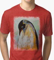Emperor Penguin Tri-blend T-Shirt