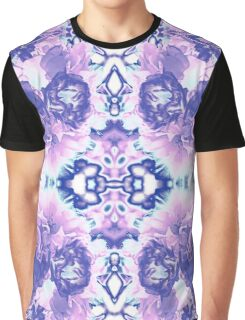 Abstract Blossom Graphic T-Shirt