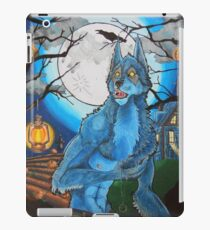 Halloween Werewolf  iPad Case/Skin