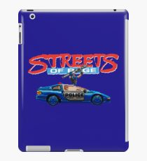 STREETS OF RAGE POLICE SUPPORT  iPad Case/Skin