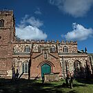 St Botolph's Church, Rugby, Warwickshire by Avril Harris