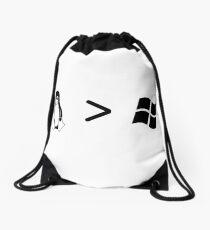 Linux/windows Drawstring Bag
