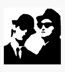 blues brothers Photographic Print