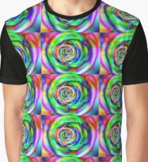 Psychedelic rose Graphic T-Shirt