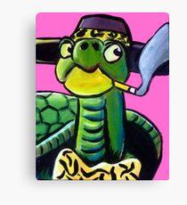 Turtle Pimp Canvas Print