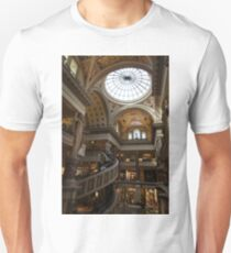 Magnificent Shopping Destination - the Forum Shops at Caesars Palace Hotel & Casino in Las Vegas Unisex T-Shirt