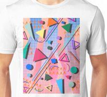 80s pop retro pattern 2 Unisex T-Shirt