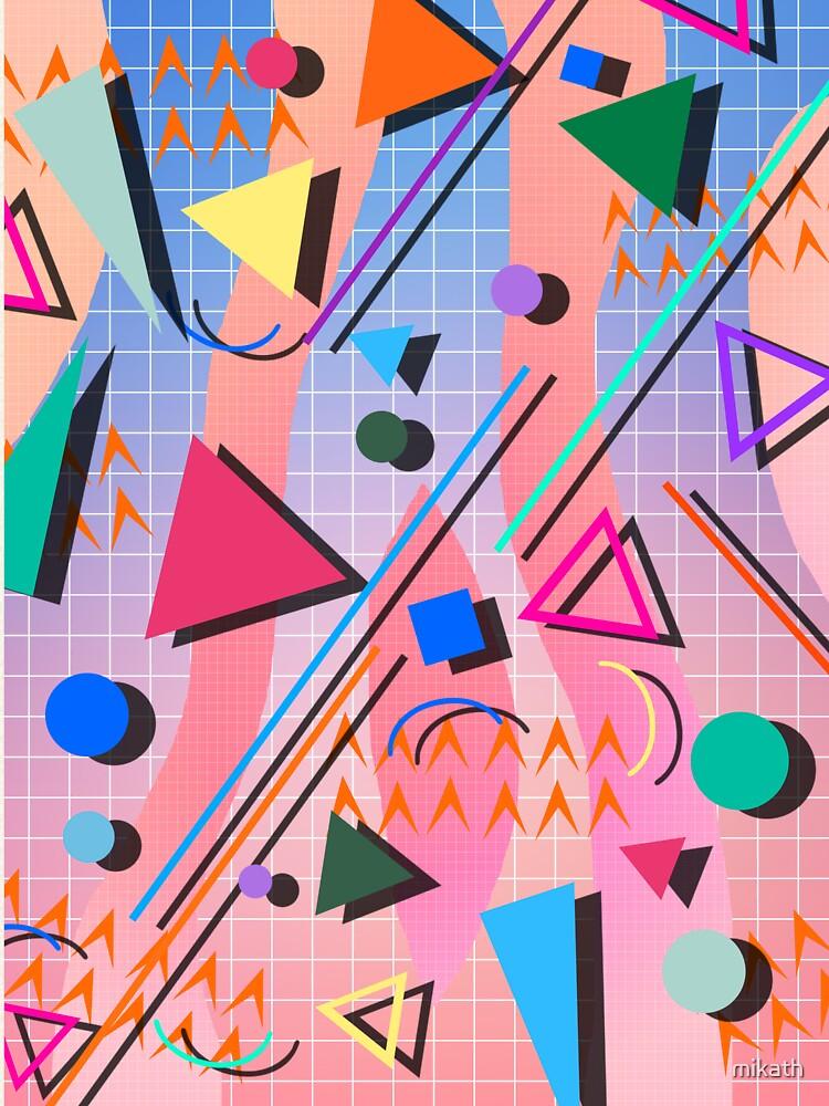 80s pop retro pattern 2 by mikath