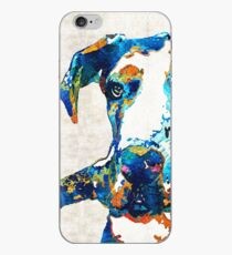 Great Dane Art - Stick With Me - By Sharon Cummings iPhone Case