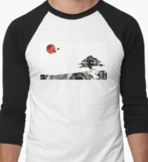 Awakening - Zen Landscape Art Men's Baseball ¾ T-Shirt