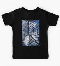 Geometric Sky - Fabulous Modern Architecture in London, UK - Vertical Kids Tee