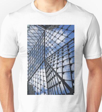 Geometric Sky - Fabulous Modern Architecture in London, UK - Vertical T-Shirt