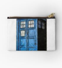 Time And Relative Dimension In Space Studio Pouch