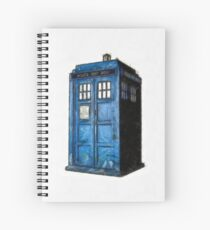 Time And Relative Dimension In Space Spiral Notebook