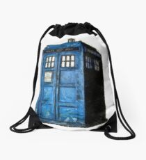 Time And Relative Dimension In Space Drawstring Bag