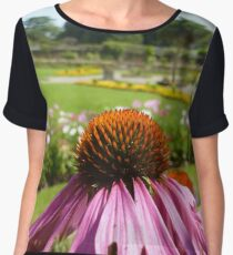 In A Beautiful Garden Women's Chiffon Top