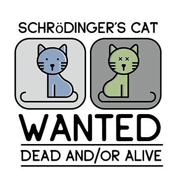 Cute Schrödinger's Cat by chimeraarts