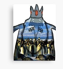 ice king & gunther Canvas Print