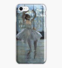 Edgar Degas - Dancer In Front Of A Window iPhone Case/Skin